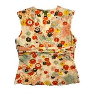 Fei Light Floral Top